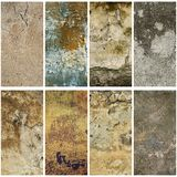 Texture grunge collection Stock Photography