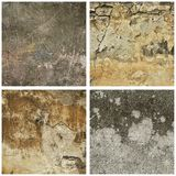 Texture grunge collection Royalty Free Stock Images