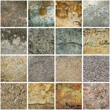 Texture grunge collection Stock Photo