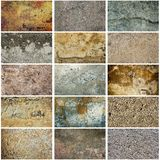 Texture grunge collection Royalty Free Stock Photo