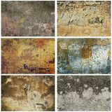 Texture grunge collection Royalty Free Stock Image