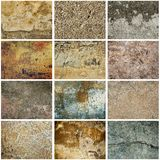 Texture grunge collection Royalty Free Stock Photography