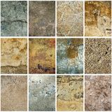 Texture grunge collection Stock Images
