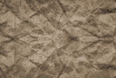 Texture of grunge crumpled paper for background Royalty Free Stock Image