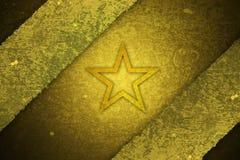 Texture grunge d'étoile Photo libre de droits