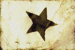 Texture grunge d'étoile Image libre de droits