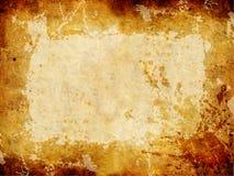 Texture grunge d'or. Image libre de droits