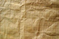 Texture grunge de cahier Images libres de droits