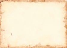 Texture grunge de fond de rétro feuille de papier de vintage Photo libre de droits