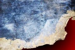 Texture grunge de mur horizontale Photographie stock libre de droits