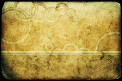 Texture grunge de papier historique Image libre de droits