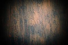 Texture grunge de plâtre de mur de vintage foncé de conception Photographie stock