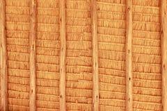 Texture grunge de toit de pile de foin Photographie stock