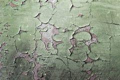 Texture grunge de vieux mur de peinture Photos libres de droits