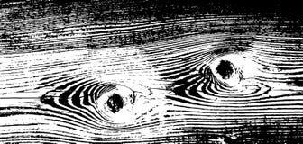 Texture grunge en bois Fond d'isolement en bois naturel Illustration de vecteur Photographie stock