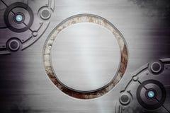 Texture grunge en métal illustration libre de droits