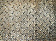 Texture of grunge floor steel plate Royalty Free Stock Photos