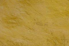 Texture grunge jaune de mur Images libres de droits