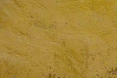 Texture grunge jaune de mur Image stock