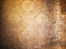Texture of Grunge old wallpaper Royalty Free Stock Images