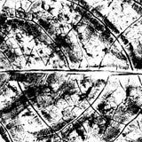Texture grunge organique noire et blanche Image libre de droits