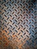 Texture of grunge rust steel plate Stock Photos