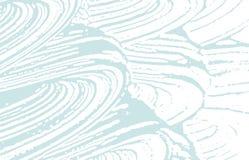Texture grunge Trace approximative bleue de détresse bizarre illustration libre de droits