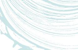 Texture grunge Trace approximative bleue de détresse bizarre illustration stock