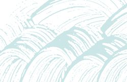 Texture grunge Trace approximative bleue de détresse Fond audacieux Texture grunge sale de bruit Art adorable Illustration Stock