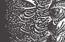 Texture grunge Trace approximative grise noire de détresse Fond étonnant Texture grunge sale de bruit Illustration Libre de Droits