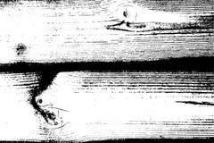 Texture grunge tramée affligée de vecteur - vieux fond en bois d'éraflure Illustration noire et blanche de vecteur pour la poussi Photos libres de droits