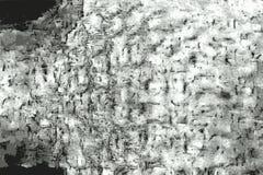 Texture grunge vieux d'un morceau de papier rayé et plié photographie stock