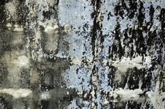 Texture of grunge wall. Texture of blue shade grunge wall Royalty Free Stock Photos