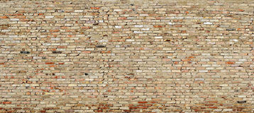 Texture of grunge wall from worn out bricks Royalty Free Stock Photos