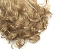 Texture - hair. Royalty Free Stock Images