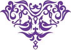 Texture hand drawn shape Royalty Free Stock Photos