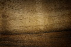 Texture handbrushed par noix foncée Fond en bois cru naturel Images stock