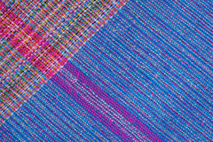 Texture of handmade Thai style cloth. Stock Images