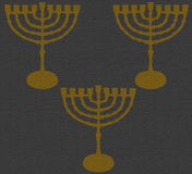 Texture Hanukkah Gray 2016. Gray Texture Hanukkah 2016 Abstract GrayTexture, Hanuka, Holidays - Gray background with component Yellow Chanukah, Decorative stock illustration