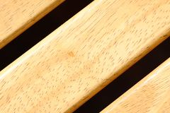 Texture of hard wood. It's a chair. Stock Images
