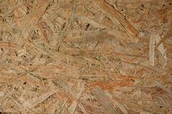 Texture of hardboard. Texture of pieces of wood Royalty Free Stock Photography