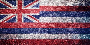 Texture of Hawaii flag. vector illustration
