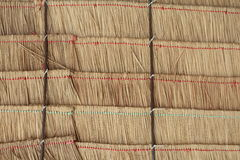 Texture of hay stack roof and bamboo in Thailand. closeup Useful as background for design-works. Texture of hay stack roof and bamboo in Thailand. closeup royalty free stock images