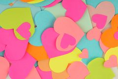 Texture heart Stock Photos