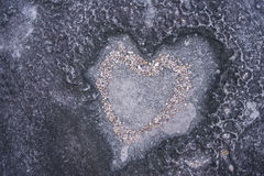 Texture. Heart-shaped stone texture for web background Stock Image