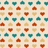 Texture with hearts Royalty Free Stock Image