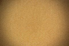 Texture of Hemp Canvas Background Stock Photography