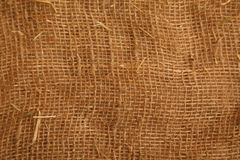 Texture high resolution of coarse cloth Stock Photos