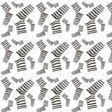 Texture of home socks. Seamless texture Stock Photos