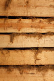Texture of horizontal boards with rags Royalty Free Stock Image
